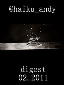 Cover for Feb 2011 haiku digest